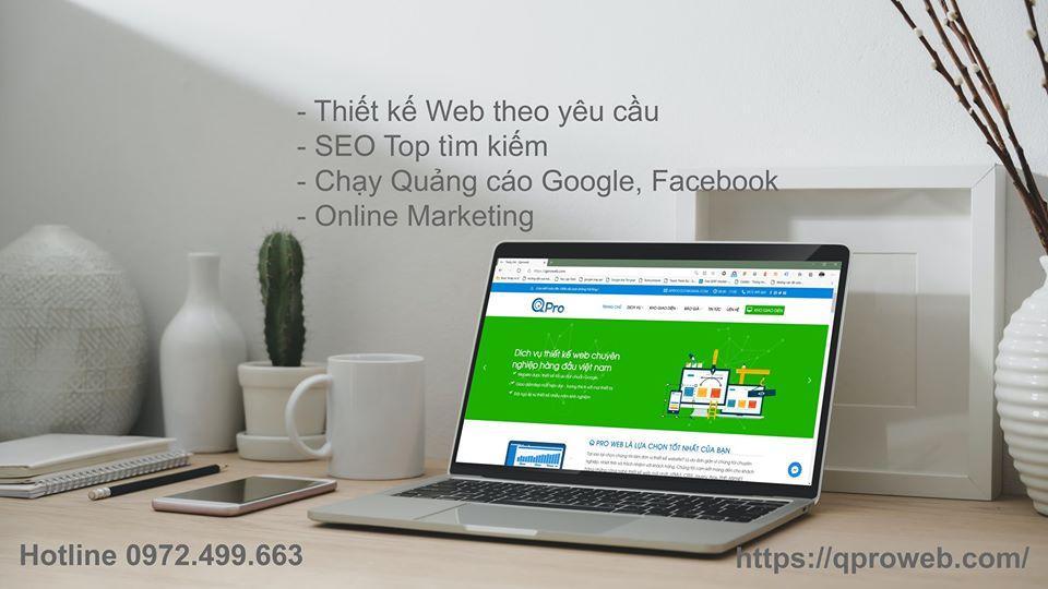 Qpro là đơn vị thiết kế website chuyên nghiệp, tận tậm tại Bắc Ninh