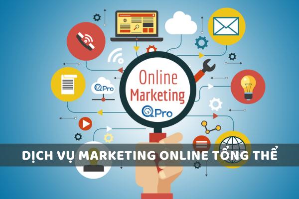 Dịch vụ Marketing Onlinr trọn gói