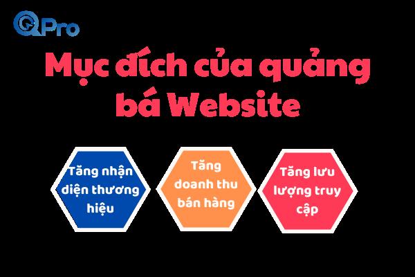 muc dich quang ba quang ba website