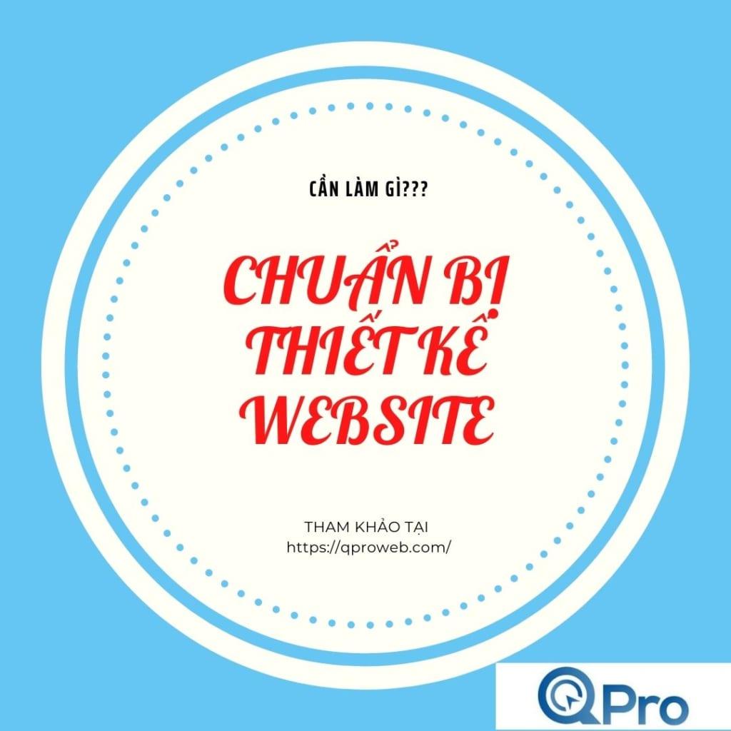 Chuẩn bị thiết kế website cần làm gì
