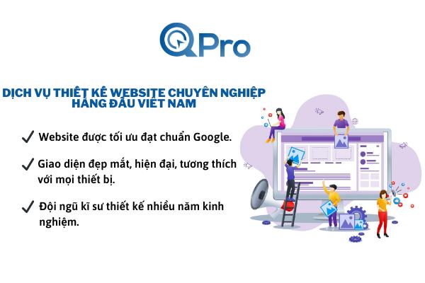 dịch vụ thiết kế website chyên nghiệp àngầuviệt nam