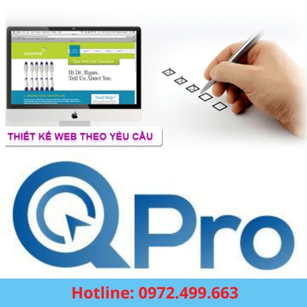 Dịch vụ thiết kế website theo yêu cầu tại Bắc Ninh
