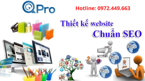 Thiết kế web đẹp và chuẩn SEO