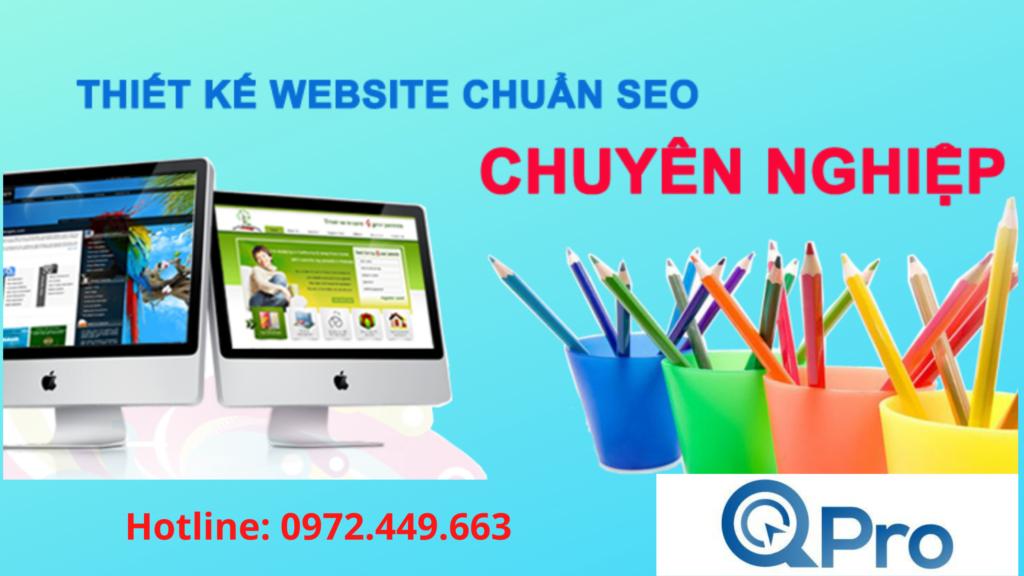 Thiết kế web đẹp và chuyên nghiệp