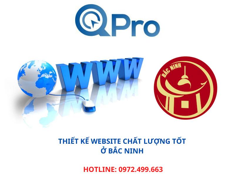 Thiết kế website chất lượng tốt ở Bắc Ninh