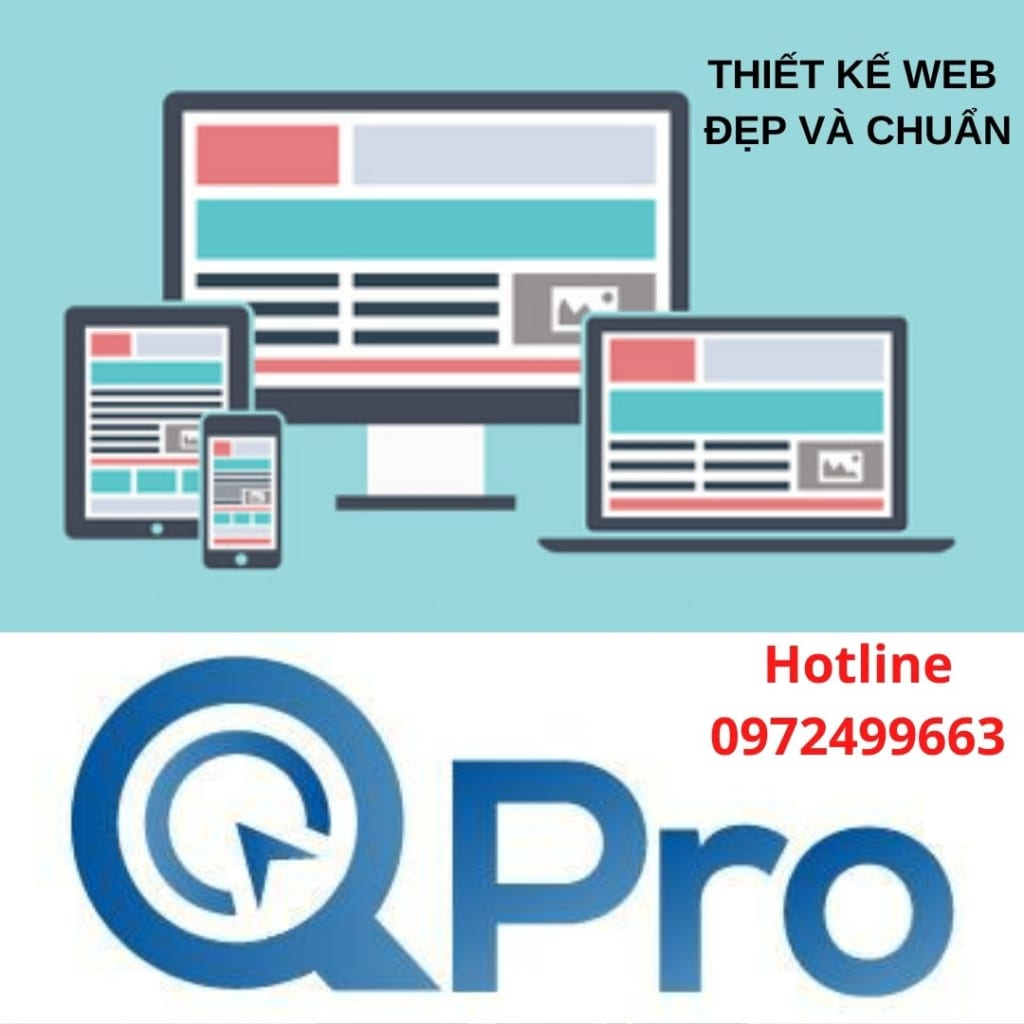 Thiết kế web đẹp và chuẩn tại Bắc Ninh