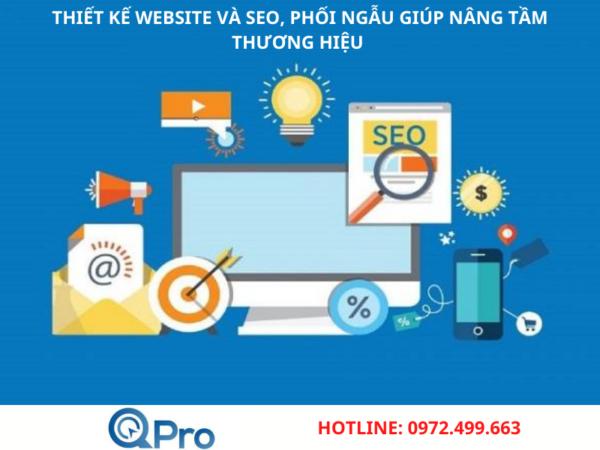Thiết kế website và SEO