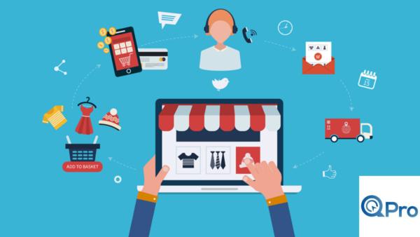 Qpro thiết kế website bán hàng trực tuyến