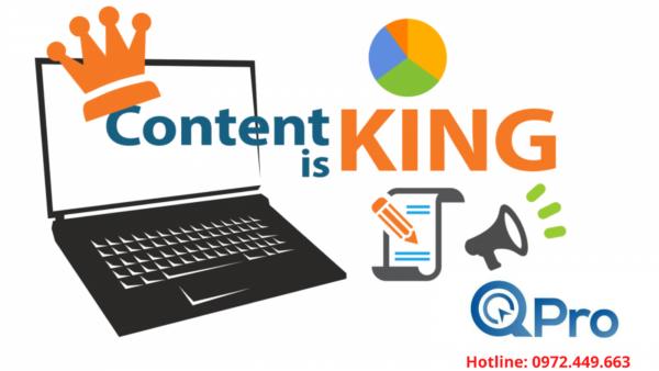 Nội dung là yếu tố cần kiểm tra khi xuất bản website