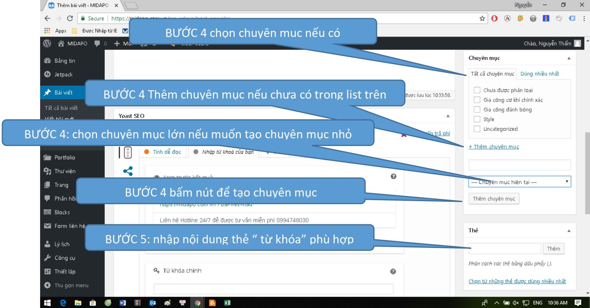qproweb huong dan su dung wordpress dang bai viet buoc 4 5