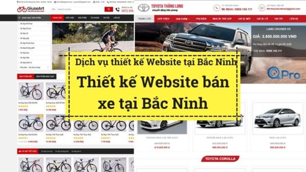 Qpro thiet ke website ban xe tai bac ninh chuyen nghiep