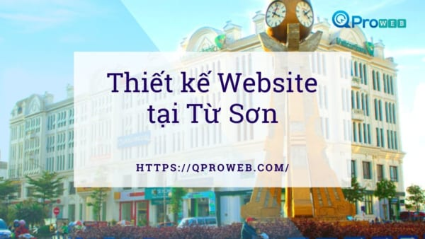 Thiet ke web tai Tu Son Bac Ninh